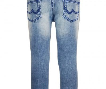 T-SHIRTS Pants VEVE 98% COTTON -2% ELASTANE   BLUE JEANS