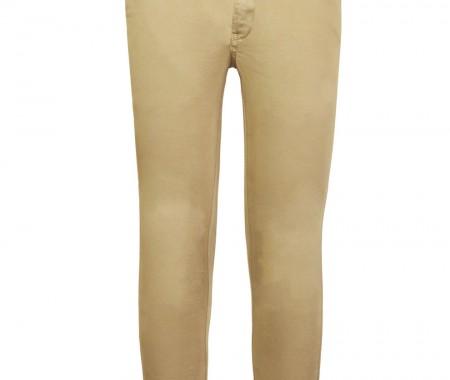 T-SHIRTS Pants VEVE 98% COTTON -2% ELASTANE BEIGE