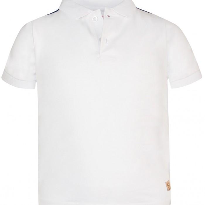 T-SHIRT BOY SHOP 95% COTTON - 5% ELASTANE WHITE