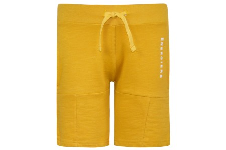 BERMOUDA BΕBE BOY 100% COTTON SAFRAN