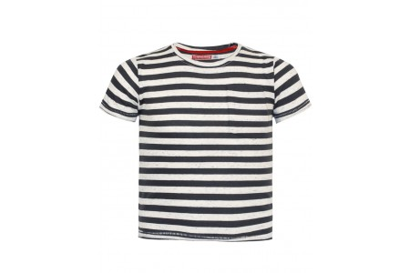 T-SHIRT BOY SHEET 100% COTTON STRIPED