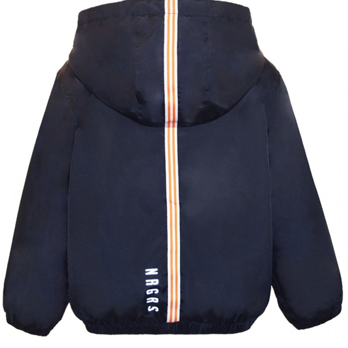 Waterproof jacket with decorative tape and lining  OCEAN BLUE