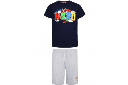 BOY SET 100% COTTON + 88% COTTON-12% LOTTERY MELANGE