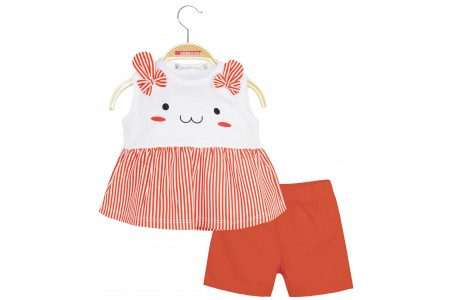 BABY KIDS 100% COTTON SET STRIPED