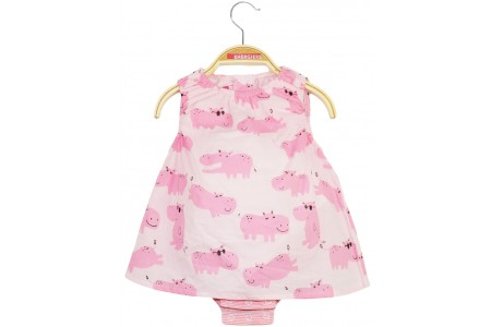 BABY 100% COTTON GIRL PINK