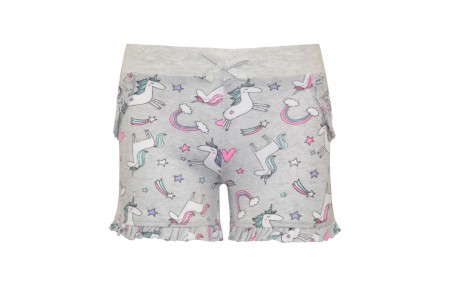 GIRLS SWEET SHORTS 95% COTTON -5% ELASTAN EBRIME