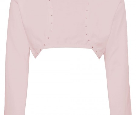 BOLERO GIRL VEVE 92% COTTON -8% ELASTANE PINK