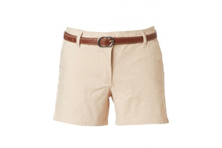 GIRL SHORTS 95% COTTON -5% ELASTANE WHITE