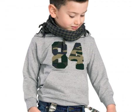 BLOUSE BOY BEBE 35% COTTON-65% POLYESTER+ 100% COTTON MELANGE