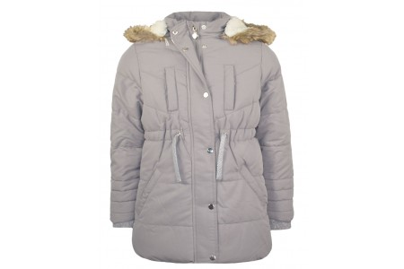 JACKET GIRL 100% POLYESTER GRAY