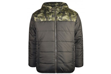 Double-sided camouflage jacket