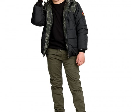 Double-sided camouflage jacket
