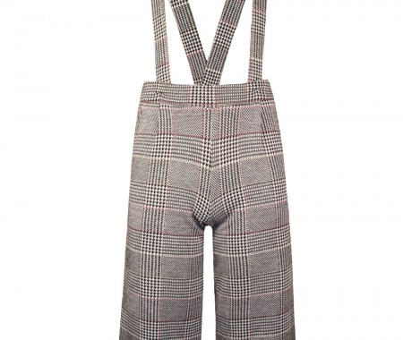 Sewing pants with straps