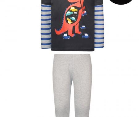 Dinosaur print pajamas(glow in the dark)
