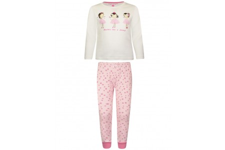 Cotton print pajamas