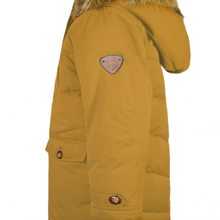 Jacket with fake fur inside and detachable hood      (on order)