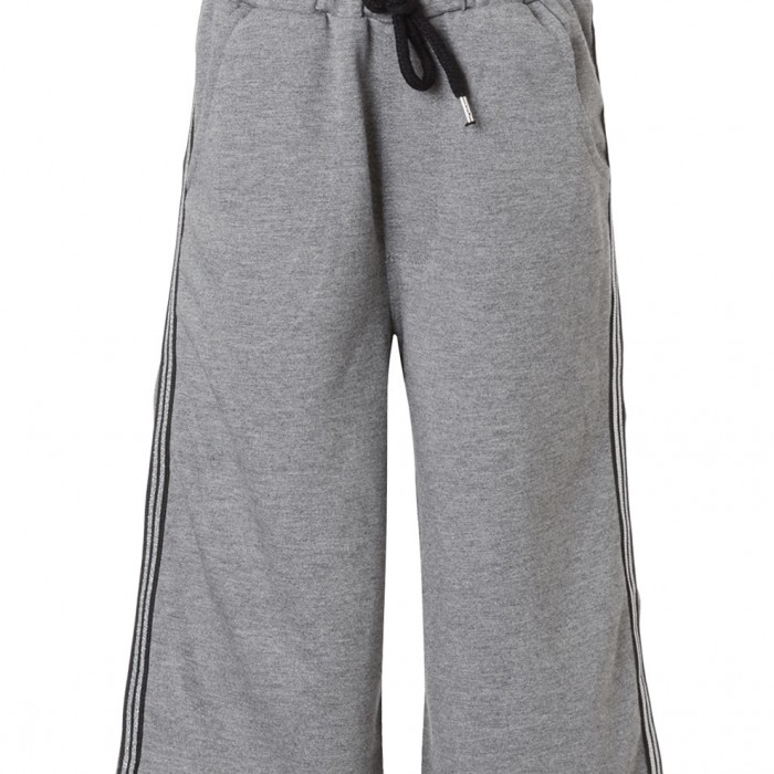 Pants with side tapes