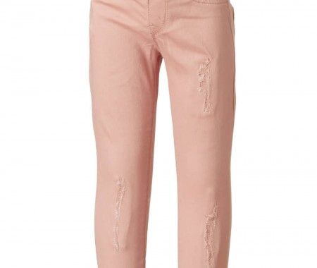 TROUSERS GIRL ΒΕΒΕ 98% COTTON -2% SPANDEX PINK